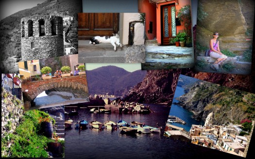 Vernazza Collage