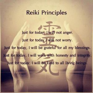 Reiki Principles (4th Agreement)