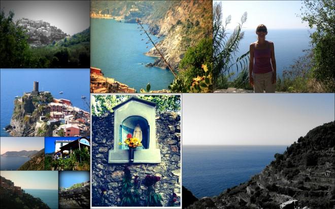 Corniglia Collage