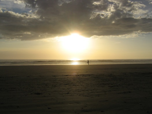 Photo by: Laura Riggs | Sunset on Playa Guiones | Nosara, Costa Rica