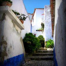 © September 2011, Obidos Rua Direita (2), Laura Riggs