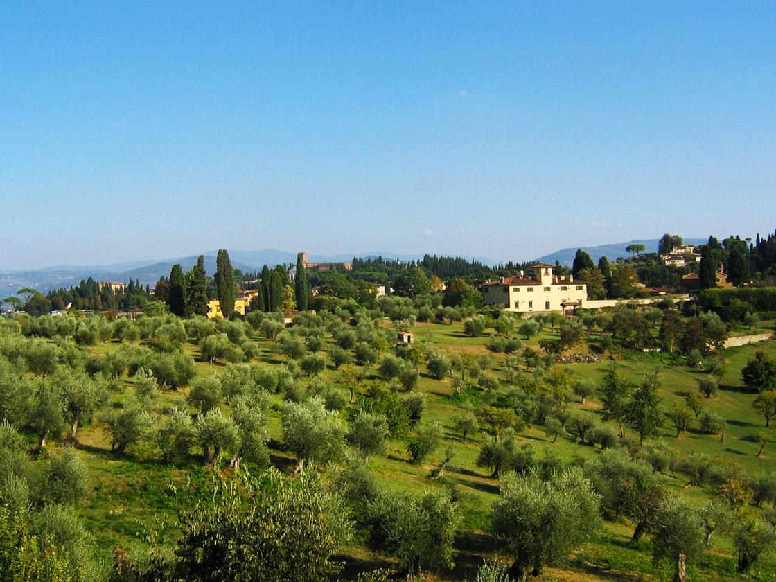 Views of Tuscany